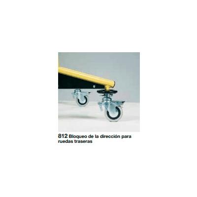 Bloqueador de la dirección para ruedas traseras de andador Dynamico