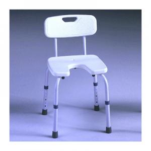 Silla de ducha 'Samba' asiento en U