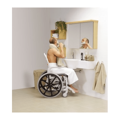 Silla de ducha autopropulsable 'Clean'