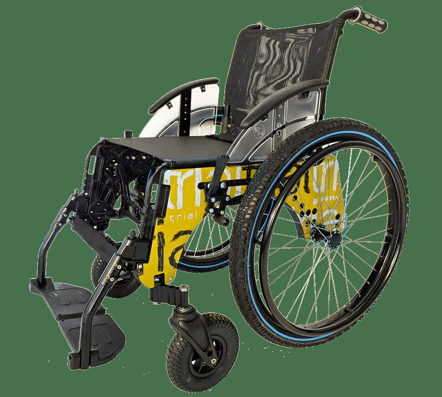 Silla de ruedas Trial Playa Amarillo