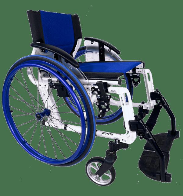 Silla de ruedas activa Sport Line Azul
