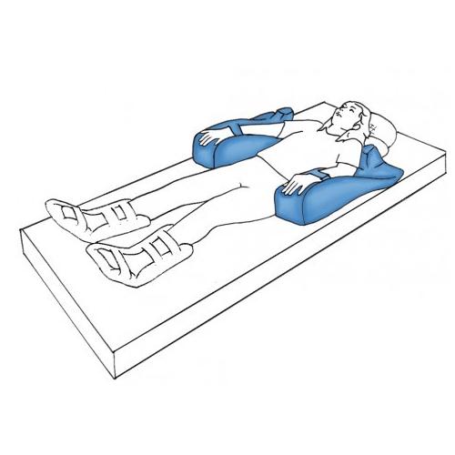 Cuña posicionadora de brazos