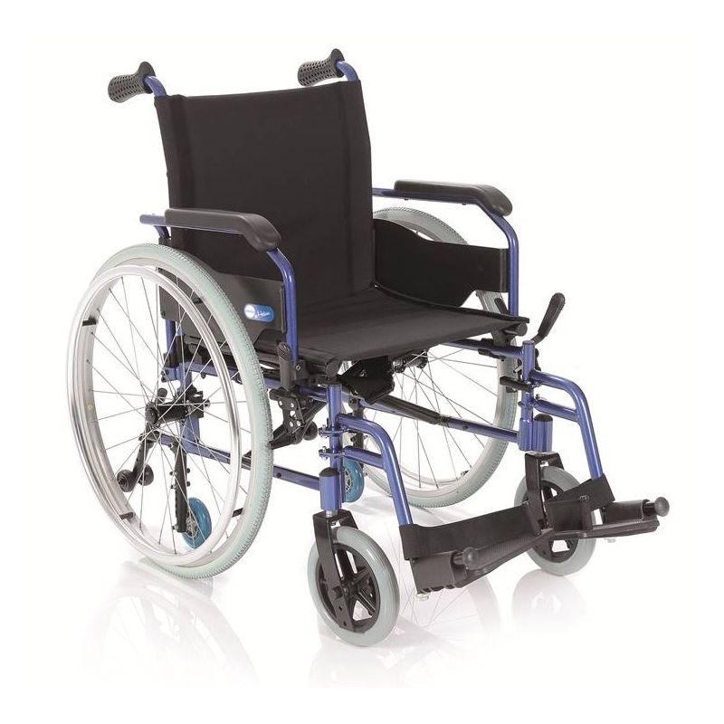Silla de ruedas plegable de aluminio convertible