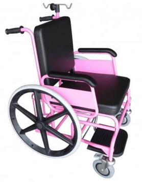 Silla de ruedas fija
